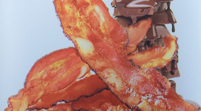 Day 9:   Love chocolate…. love bacon… Have I fallen for them both?
